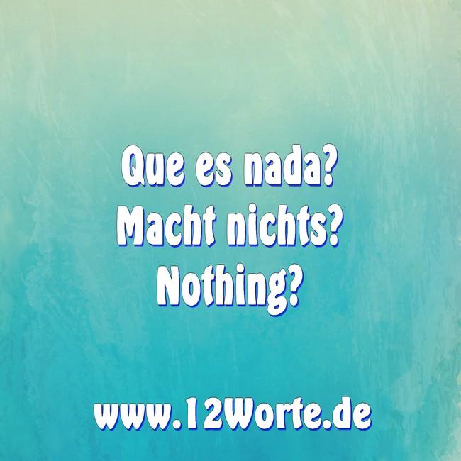 Nichts, Etwas